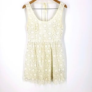 Ark and Co Ivory lace dress